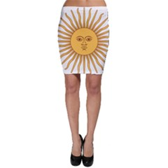 Argentina Sun of May  Bodycon Skirt