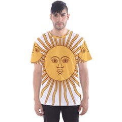 Argentina Sun of May  Men s Sport Mesh Tee