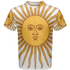 Argentina Sun of May  Men s Cotton Tee