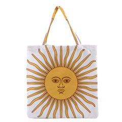 Argentina Sun of May  Grocery Tote Bag
