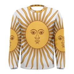 Argentina Sun of May  Men s Long Sleeve Tee