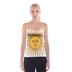 Argentina Sun of May  Spaghetti Strap Top