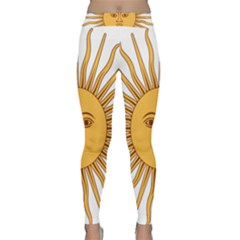 Argentina Sun of May  Yoga Leggings