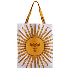 Argentina Sun of May  Zipper Classic Tote Bag