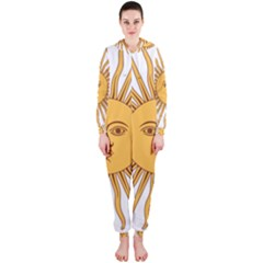 Argentina Sun of May  Hooded Jumpsuit (Ladies)