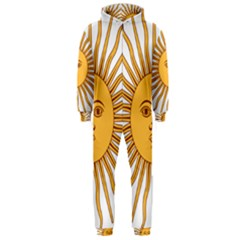 Argentina Sun of May  Hooded Jumpsuit (Men)