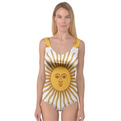 Argentina Sun of May  Princess Tank Leotard