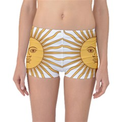 Argentina Sun of May  Boyleg Bikini Bottoms