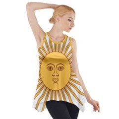 Argentina Sun of May  Side Drop Tank Tunic