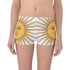 Argentina Sun of May  Reversible Boyleg Bikini Bottoms