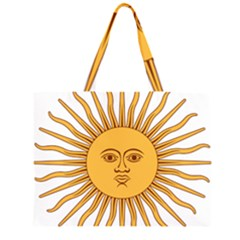 Argentina Sun of May  Large Tote Bag