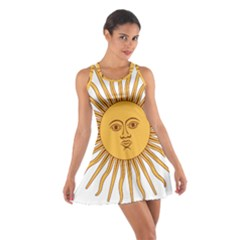 Argentina Sun of May  Racerback Dresses