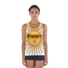 Argentina Sun of May  Women s Sport Tank Top