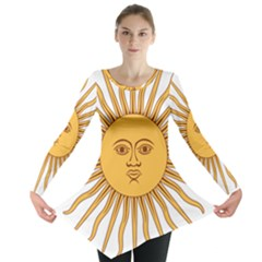 Argentina Sun of May  Long Sleeve Tunic