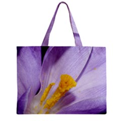 Purple Crocus Mini Tote Bag