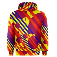 Hot circles and lines Men s Pullover Hoodie