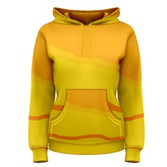 Yellow decorative design Women s Pullover Hoodie