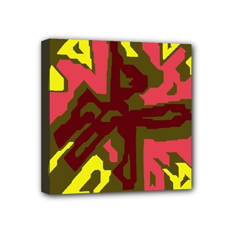 Abstract design Mini Canvas 4  x 4