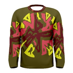 Abstract design Men s Long Sleeve Tee