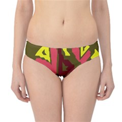 Abstract design Hipster Bikini Bottoms