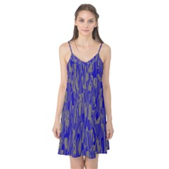 Plue decorative pattern  Camis Nightgown