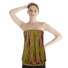 Decorative pattern  Strapless Top