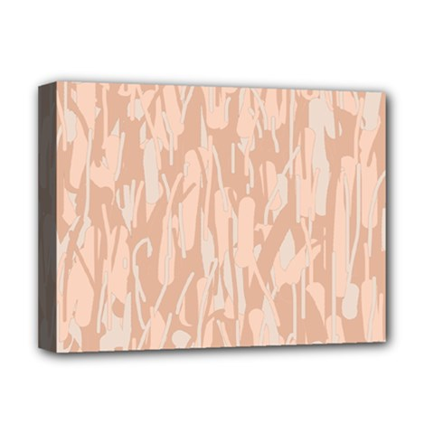 Pink pattern Deluxe Canvas 16  x 12
