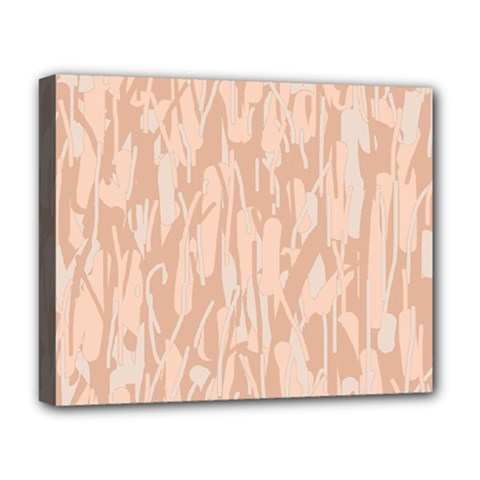 Pink pattern Deluxe Canvas 20  x 16
