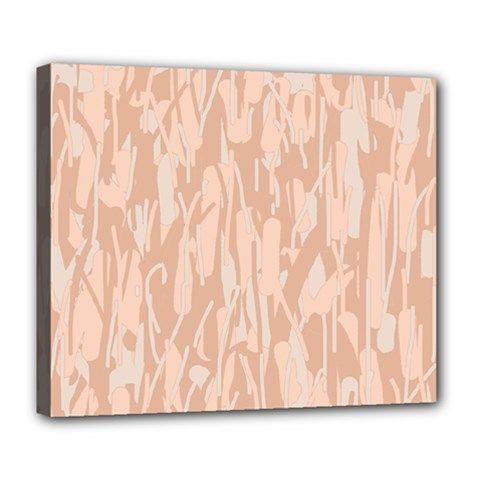 Pink pattern Deluxe Canvas 24  x 20