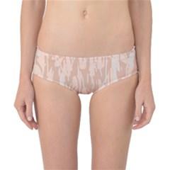 Pink pattern Classic Bikini Bottoms