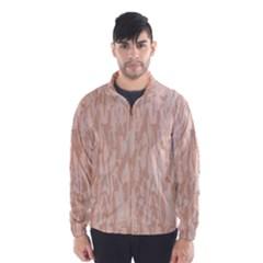 Pink pattern Wind Breaker (Men)