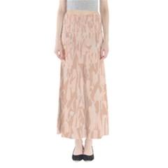 Pink pattern Maxi Skirts