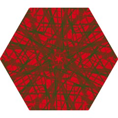 Red pattern Mini Folding Umbrellas