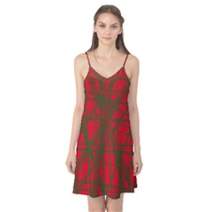 Red pattern Camis Nightgown