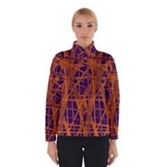 Blue and orange pattern Winterwear