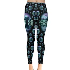 One Woman One Island And Rock On Leggings