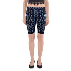 One Woman One Island And Rock On Yoga Cropped Leggings