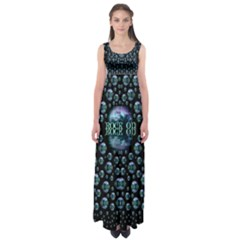 One Woman One Island And Rock On Empire Waist Maxi Dress