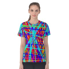 Colorful pattern Women s Cotton Tee