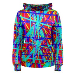 Colorful pattern Women s Pullover Hoodie