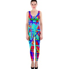 Colorful pattern OnePiece Catsuit