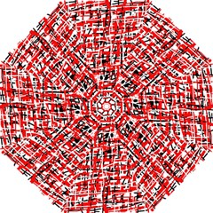Red, white and black pattern Hook Handle Umbrellas (Small)