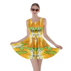 Mister Jellyfish The Octopus With Friend Skater Dress