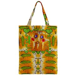 Mister Jellyfish The Octopus With Friend Zipper Classic Tote Bag