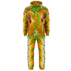 Mister Jellyfish The Octopus With Friend Hooded Jumpsuit (men)