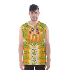 Mister Jellyfish The Octopus With Friend Men s Basketball Tank Top