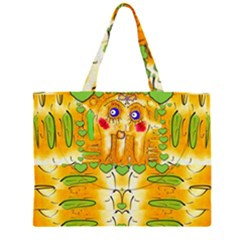 Mister Jellyfish The Octopus With Friend Large Tote Bag