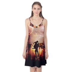 Dancing In The Night With Moon Nd Stars Camis Nightgown