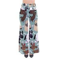 Dog Pattern Pants