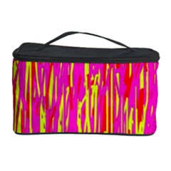Pink and yellow pattern Cosmetic Storage Case